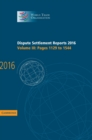 Dispute Settlement Reports 2016: Volume 3, Pages 1129 to 1544 - Book