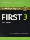 FCE Practice Tests : Cambridge English First 3 Student's Book with Answers - Book