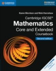 Cambridge IGCSE (R) Mathematics Core and Extended Coursebook - Book