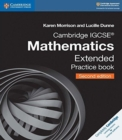 Cambridge International IGCSE : Cambridge IGCSE (R) Mathematics Extended Practice Book - Book