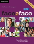 face2face Upper Intermediate A Student's Book - Book