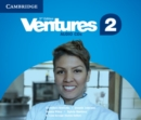 Ventures Level 2 Class Audio CDs - Book