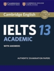 Cambridge IELTS 13 Academic Student's Book with Answers : Authentic Examination Papers - Book