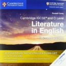 Cambridge IGCSE (R) and O Level Literature in English Cambridge Elevate Teacher's Resource Access Card - Book