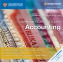 Cambridge IGCSE (R) and O Level Accounting Cambridge Elevate Teacher's Resource Access Card - Book