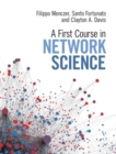 A First Course in Network Science - Book