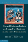 Great Christian Jurists and Legal Collections in the First Millennium - Book