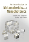 An Introduction to Metamaterials and Nanophotonics - Book