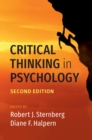 Critical Thinking in Psychology - Book