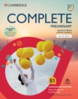 Complete Preliminary Student's Book Pack (SB wo Answers w Online Practice and WB wo Answers w Audio Download) : For the Revised Exam from 2020 - Book