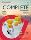 Complete Preliminary Self Study Pack (SB w Answers w Online Practice and WB w Answers w Audio Download and Class Audio) : For the Revised Exam from 2020 - Book