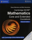 Cambridge IGCSE (R) Mathematics Coursebook Core and Extended Second Edition with Cambridge Online Mathematics (2 Years) - Book