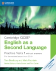 Cambridge IGCSE (R) English as a Second Language Practice Tests 1 without Answers : For the Revised Exam from 2019 - Book