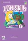 Fun Skills Level 3 Teacher's Book with Audio Download - Book