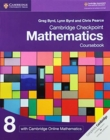 Cambridge Checkpoint Mathematics Coursebook 8 with Cambridge Online Mathematics (1 Year) - Book