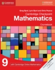 Cambridge Checkpoint Mathematics Coursebook 9 with Cambridge Online Mathematics (1 Year) - Book