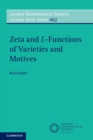 Zeta and L-Functions of Varieties and Motives - Book
