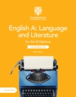 English A: Language and Literature for the IB Diploma Coursebook - Book