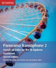 Panorama francophone 2 Coursebook : French ab initio for the IB Diploma - Book
