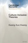 Culture-Inclusive Theories : An Epistemological Strategy - Book