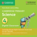 Cambridge Primary Science Stage 4 Cambridge Elevate Digital Classroom Access Card (1 Year) - Book