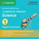 Cambridge Primary Science Stage 1 Cambridge Elevate Digital Classroom Access Card (1 Year) - Book