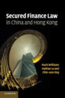 Secured Finance Law in China and Hong Kong - Book