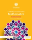 Cambridge Lower Secondary Mathematics Learner's Book 7 with Digital Access (1 Year) - Book