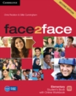 face2face Elementary Student's Book with Online Workbook - Book