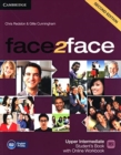 face2face Upper Intermediate Student's Book with Online Workbook - Book