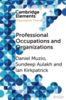 Professional Occupations and Organizations - Book
