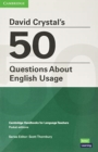David Crystal's 50 Questions About English Usage Pocket Editions - Book