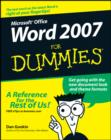 Word 2007 For Dummies - eBook