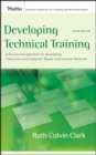 Developing Technical Training : A Structured Approach for Developing Classroom and Computer-based Instructional Materials - eBook