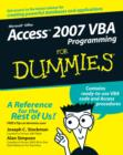 Access 2007 VBA Programming For Dummies - eBook