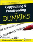 Copyediting and Proofreading For Dummies - eBook