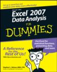 Excel 2007 Data Analysis For Dummies - eBook