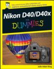 Nikon D40/D40x For Dummies - eBook