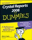 Crystal Reports 2008 For Dummies - eBook