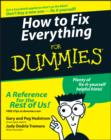 How to Fix Everything For Dummies - eBook