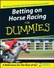 Betting on Horse Racing For Dummies - eBook