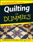 Quilting For Dummies - eBook