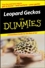 Leopard Geckos For Dummies - eBook