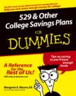 529 and Other College Savings Plans For Dummies - eBook