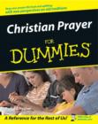 Christian Prayer For Dummies - eBook