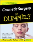 Cosmetic Surgery For Dummies - eBook