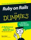 Ruby on Rails For Dummies - eBook