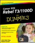 Canon EOS Rebel T3/1100D For Dummies - eBook