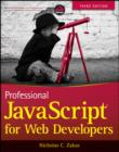 Professional JavaScript for Web Developers - eBook