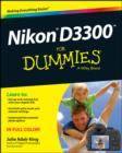 Nikon D3300 For Dummies - eBook